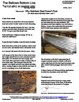 Fun Facts About Stainless Steel Bellows