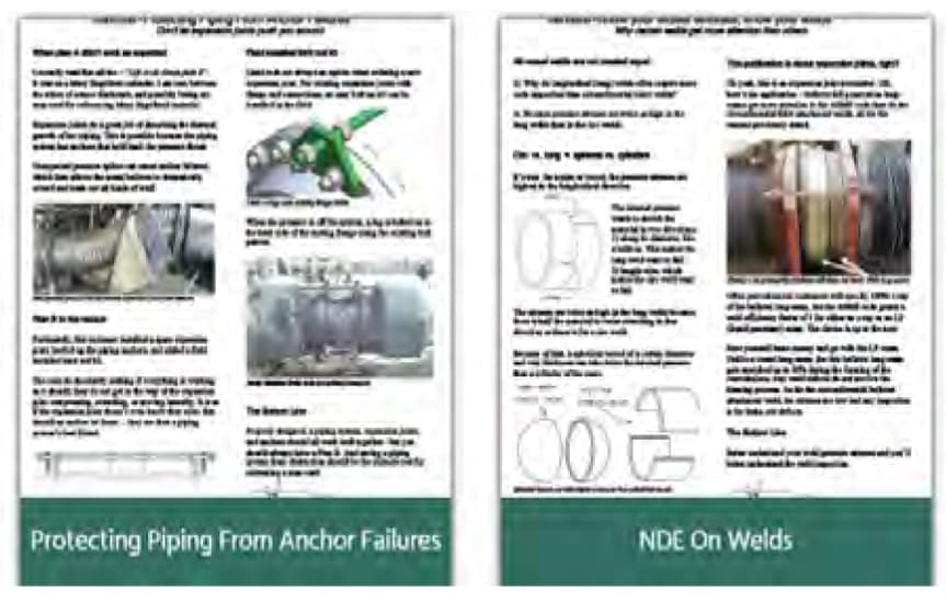 Articles on Expansion Joints
