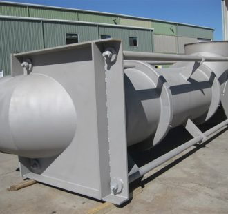 Heavy wall acid plant expansion joint